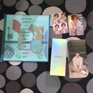 Seventeen Kpop Bundle - Keyring Lightstick & Album